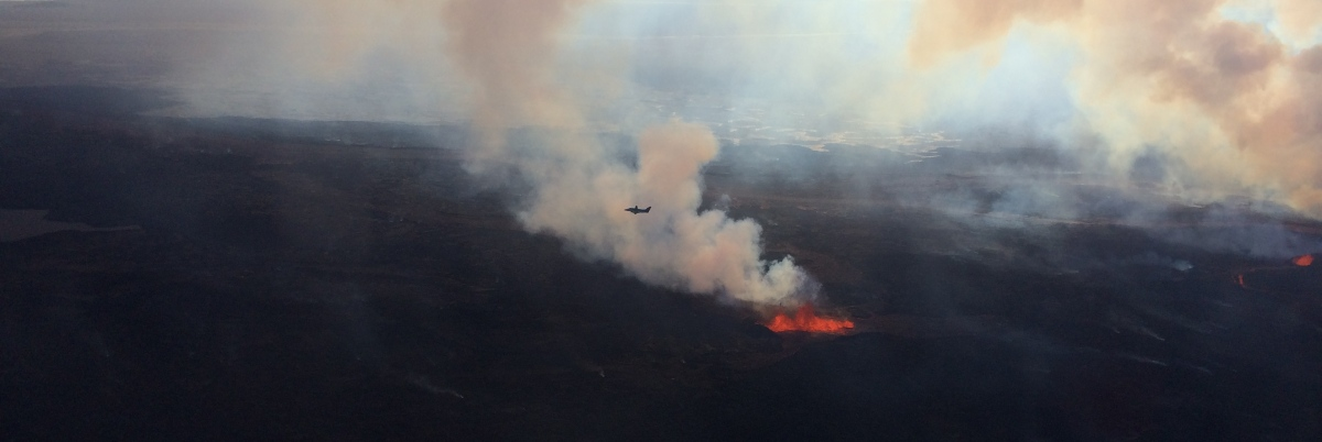 Bárðarbunga Eruption 2014