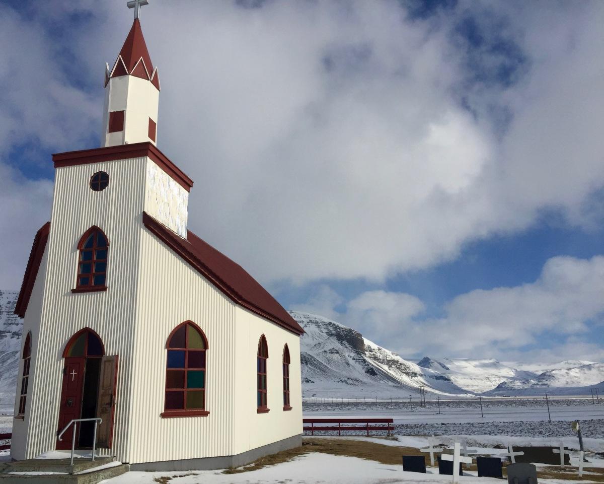 Staðarhólskirkja, Saurbær, Iceland