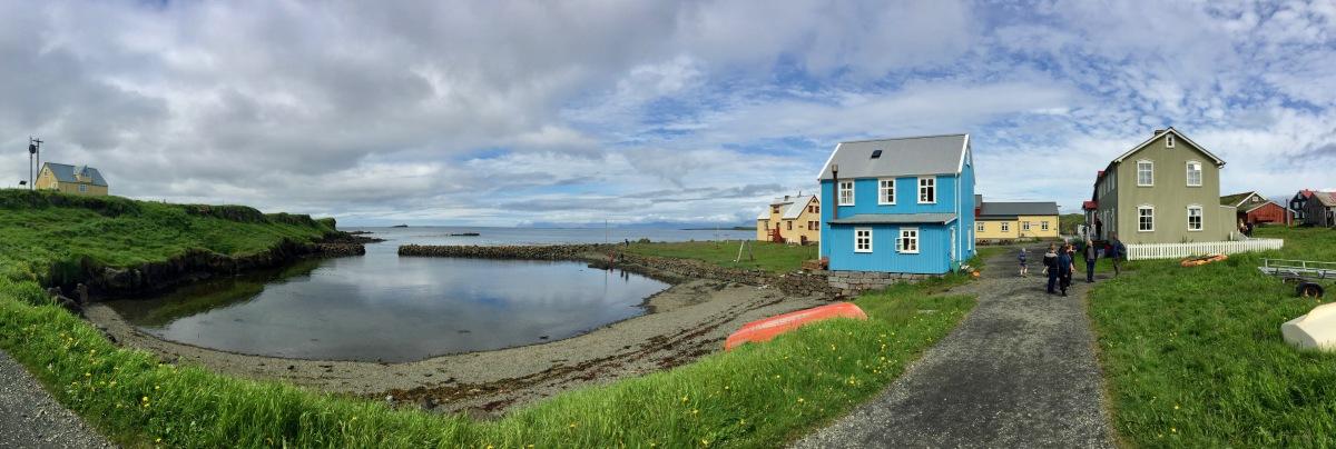 Flatey, Iceland, Panorama